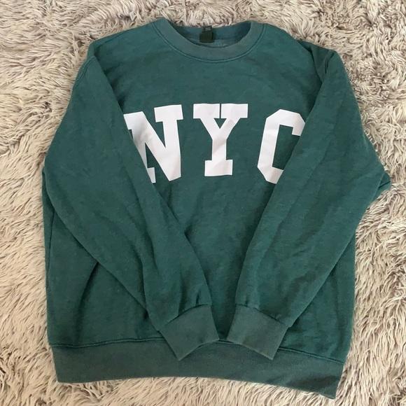 """Wild Fable """"NYC"""" Oversized Sweatshirt"""